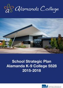 2015-2018 School Strategic Plan